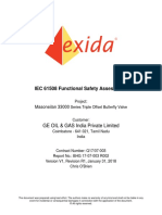 GEO 17-07-003 R002 V1R1 33000 Series Butterfly Valve IEC 61508 Assessment Report