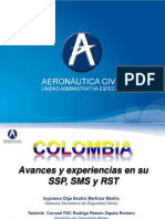 6_Colombia Avances SSP SMS y RST - Lima Marzo 2013