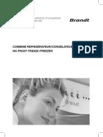 BFC3852P manual
