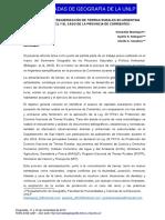 Proceso de Extranjerización de Tierras Rurales en Argentina