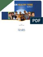 Oregon Healthy Teens Survey 2017