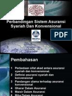 Perbandingan Sistem Asuransi Syariah & Konvensional