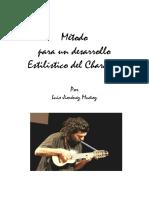 Método Para Un Desarrollo Estilístico Del Charango Por Luis Jiménez