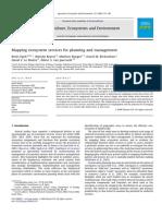 2008 - Egoh et al - Mapping ES for planning and management.pdf