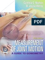 Measurement of Joint Motion 5th edition