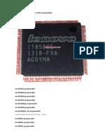 lista de chip ec programacles