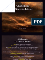 A Sabedoria Do Silencio Interno