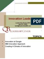 Innovation Leadership