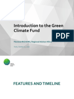 Introduction Green Climate Fund Oct 2016