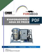 Evaporadores Agua CMBE FORMECO.mail