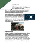 Colonización de Los Pueblos Originarios de Guatemala