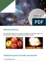Resumen reacciones químicas