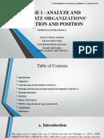 Phase 1 - Analyze and Evaluate Organizations' (1)Colaborativ
