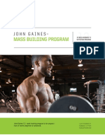 2019 JohnGaines MassBuilding NutritionProgram