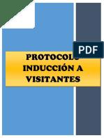 V 02. Protocolo de Inducción a Visitantes