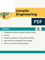 MedEthics Genetic Engineering Report
