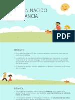 tema 3 EL RECIEN NACIDO Y LA INFANCIA.pptx