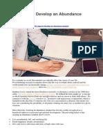 10 Steps to Develop an Abundance Mindset.docx