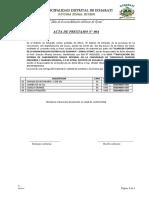 ACTA DE PRESTAMO DE HERRAMIENTAS