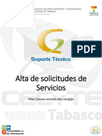 Info-glpi-manual de Realizar Una Solicitud de Serv