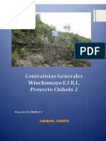 Plan de Señalización de Seguridad de mina subterranea