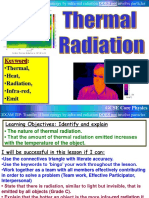 PHY 1.1 Thermal Radiation
