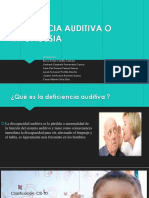 Deficiencia Auditiva o Hipoacusia 2