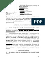 Demanda Felipe Lopez