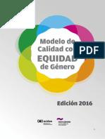 Modelo de calidad con equidad de género MIDES URUGUAY