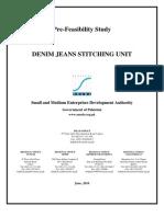 SMEDA Denim Jeans Stitching Unit