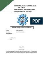 Informe Zona i - Huambutio