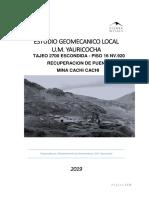 Informe Recuperacion de Puente - Tj2700