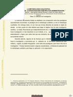 Enfoques de Investigacion La Metodologia Cualitativa. Lab. 1.