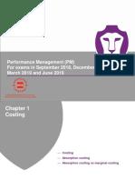 ACCA-Performance Management (PM)-Revision Slides
