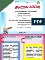 Integracion Social Ponencia 3 10 2017