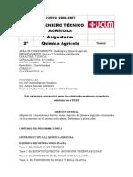 Química Agrícola - ITA