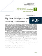 Big Data, Inteligencia Artificial y El Futuro de La Democracia
