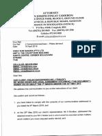 Letter to Visec 18 April 2019