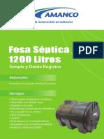 Fosa Septica Simple Y Doble Registro