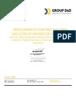 Proc. Constructivo Para Ejecución de Vaciado de Contrapiso