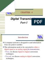 Ch 4 Digital Transmission