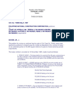 Obligations and Contracts Cases