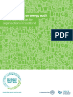 Energy audit guide
