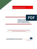 Guidelines Annex a Statement of Work