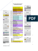 2019-2020 Napa Valley Unified School District Calendar
