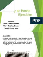 Ley de Hooke - Ejercicios