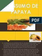 Consumo de Papaya (1)