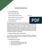 Informe & Planificacion TCA