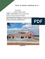 Anàlisis Cualitativo de Riesgos Laborales en La Construcciòn