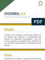 DYSOMEK, S.A.